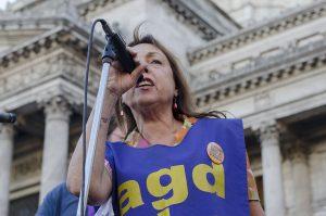 Ileana Celotto, sec. gral de AGD UBA