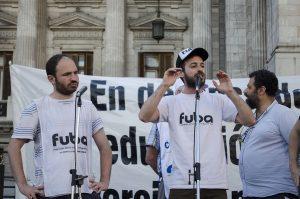 Los presidentes de la FUBA Asiner y Lutvak