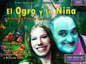 AUDITORIO El ogro y niña de cecilia Propato con logo