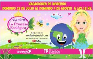 Mariana la princesa ecológica